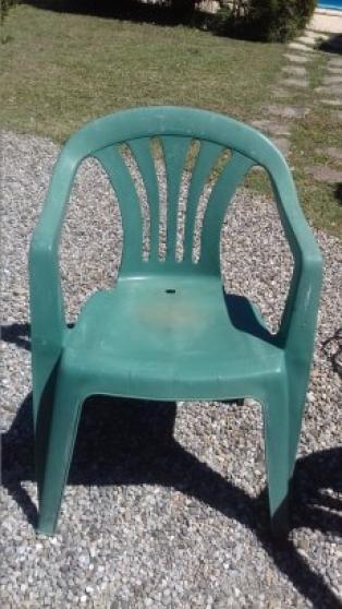 4 fauteuils de jardin