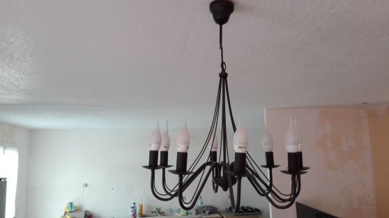 Annonce occasion, vente ou achat 'Lustre style fer forger'