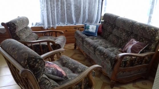 Annonce occasion, vente ou achat 'Salon : canapé convertible + 2 fauteuils'