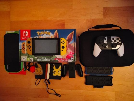 Annonce occasion, vente ou achat 'Nintendo Switch Pokemon lets go edition'