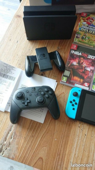Nitendo switch + jeux + manette - Photo 2