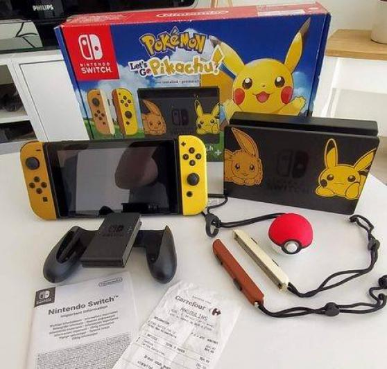 Nintendo switch+jeux
