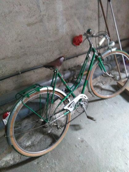 Vélo vintage femme