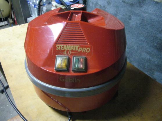 Steamatic pro vapeur