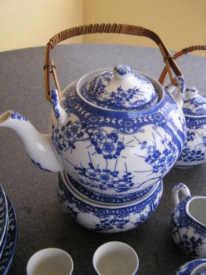 Service à thé japon. Fleur de Cerisier - Photo 2