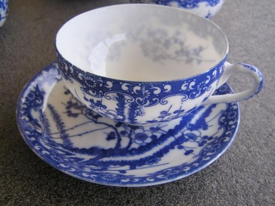 Service à thé japon. Fleur de Cerisier - Photo 4