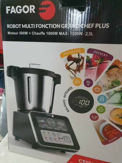 Annonce occasion, vente ou achat 'ROBOT MULTIFONCTION FAGOR GRAND CHEF +'
