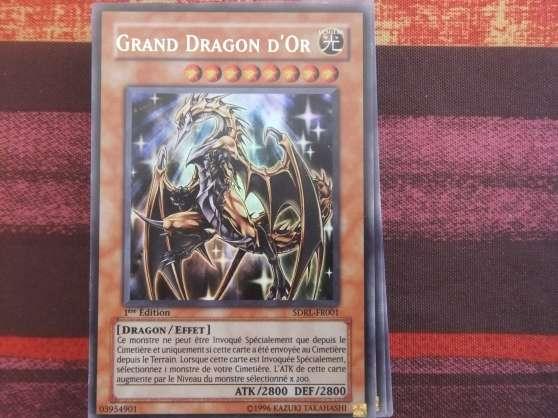 deck yugioh grand dragon d 39 or lagnieu collections jeux de cartes lagnieu reference col jeu. Black Bedroom Furniture Sets. Home Design Ideas