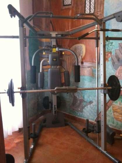 Weider Smith Machine55kg Poid Olympique Sports Musculation à