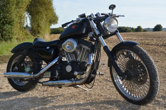 harley 1200 sportster moto scooter v lo harley davidson la fert bernard reference mot. Black Bedroom Furniture Sets. Home Design Ideas