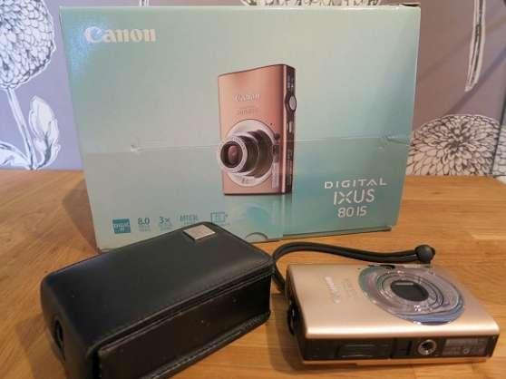Petite Annonce : Canon digital ixus 80 is - Canon Digital IXUS 80 IS  Vends mon soigneusement utilisé