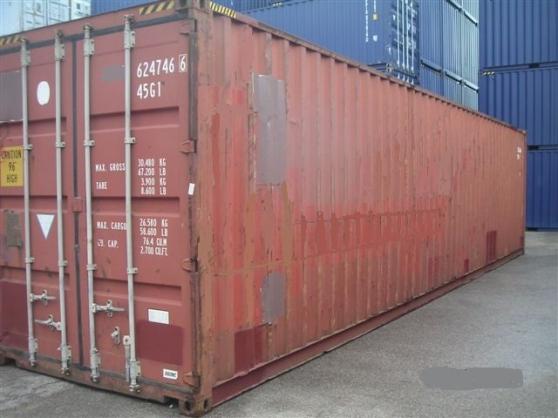 Annonce occasion, vente ou achat 'Tout type de conteneurs maritimes neufs'