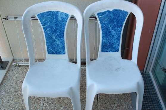 2 Chaises de jardin - Eric77