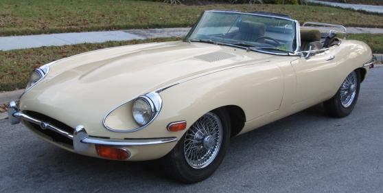 Jaguar E-Type , Serie II , 4.2L , Cabrio