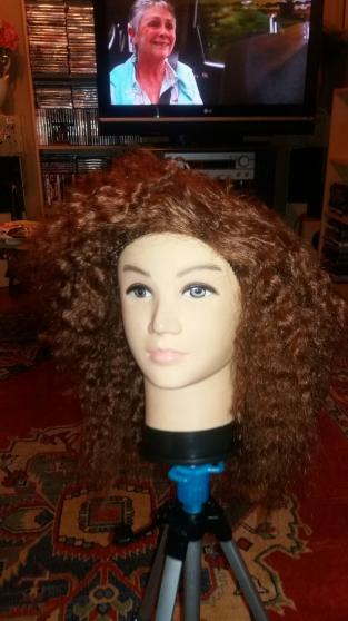 perruque femme a crochet