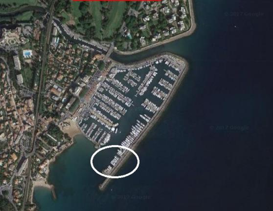 place de port 25.00m x 5.50m - Annonce gratuite marche.fr