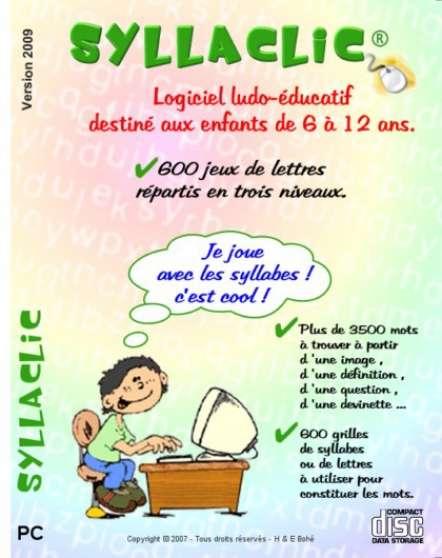 Logiciel éducatif enfants 6/12a.