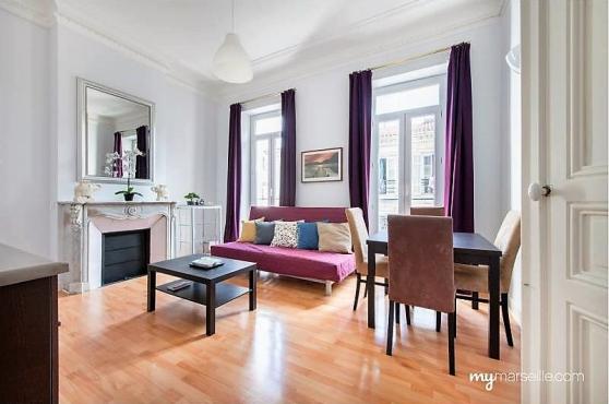 Appartement T6 131m2 Longchamp Marseille