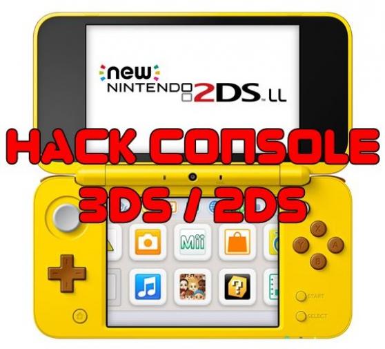 Annonce occasion, vente ou achat 'Modification Console Nintendo 3ds / 2ds'