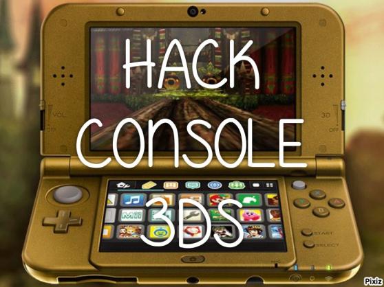 Annonce occasion, vente ou achat 'Hack Console 3ds / 2ds'