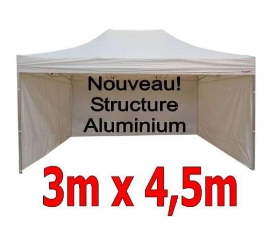 barnum pliant aluminium 3x4 5m blanc 4c pau. Black Bedroom Furniture Sets. Home Design Ideas