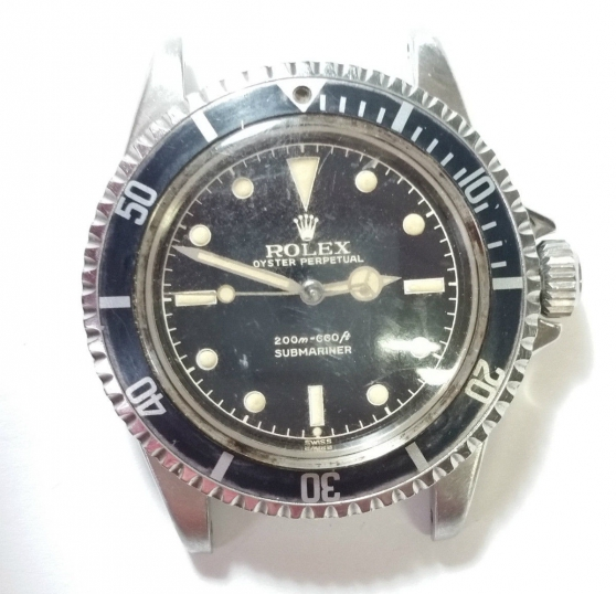 Authentique Rolex Submariner 1962 Genuin