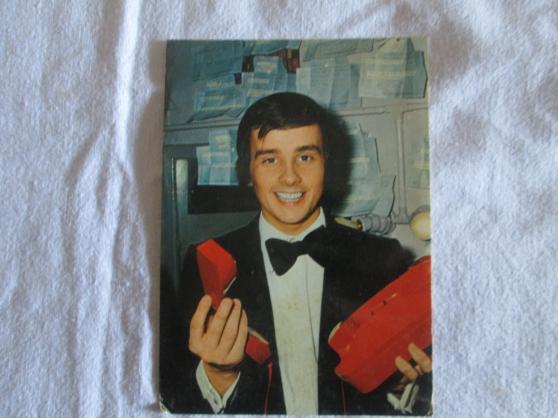 très rare carte postale thierry le luron