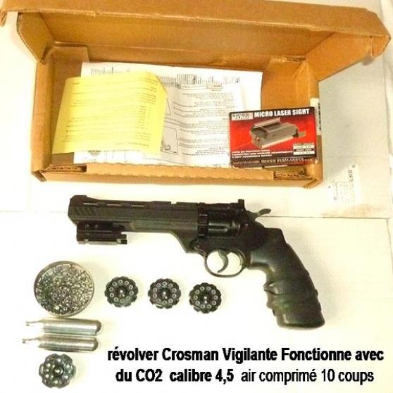 vends  révolver crosman vigilante - Annonce gratuite marche.fr