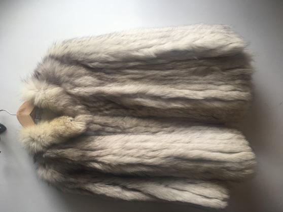 manteau en renard gris t38 - Annonce gratuite marche.fr