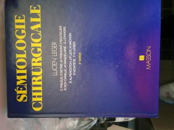 SEMIOLOGIE CHIRURGICALE. 5ème édition