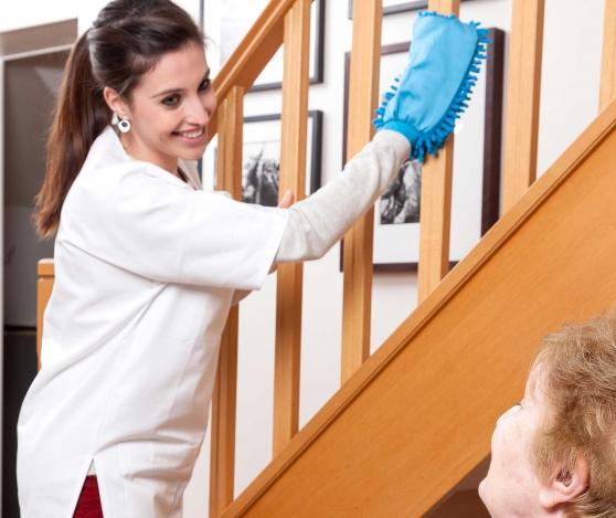 Recherche femme de ménage à domicile