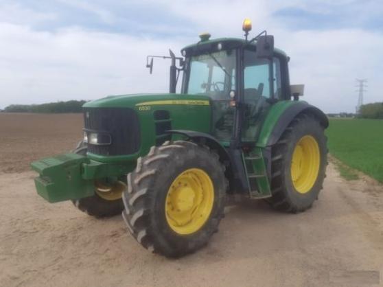Annonce occasion, vente ou achat 'Tracteur agricole - John Deere 6530'