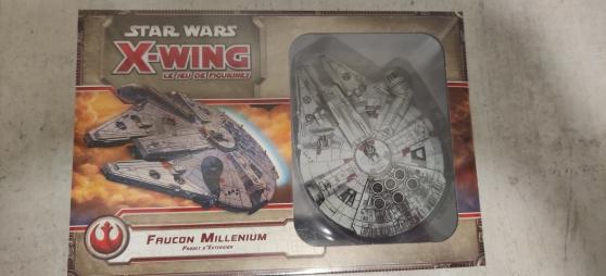 Annonce occasion, vente ou achat 'star wars X WING faucon millenium'