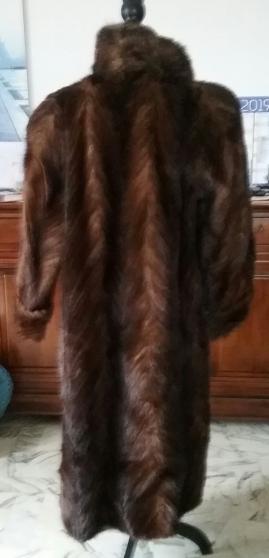 Manteau queues de vison - Photo 2