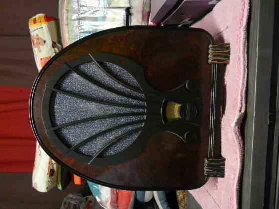 Radio ancienne philips 1932