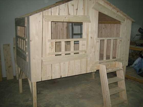 Lit cabane pour enfant plusieur model à Juvignac MEUBLES