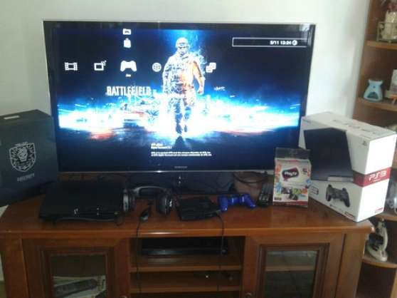 Console playstation 3, play tv, casque