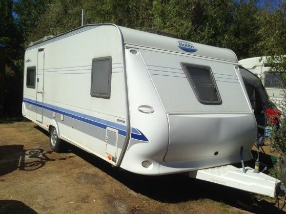 caravane hobby prestige 5m60 vias caravanes camping. Black Bedroom Furniture Sets. Home Design Ideas