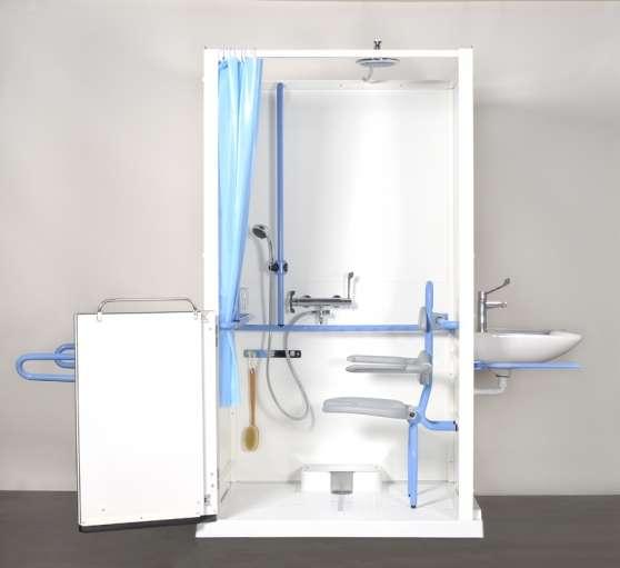 Cabine de douche handicapé /mobilité réd