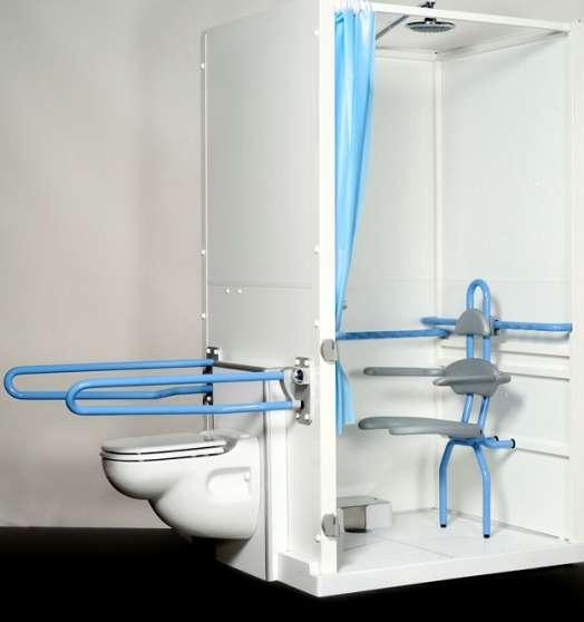 Cabine de douche handicapé /mobilité réd - Photo 2