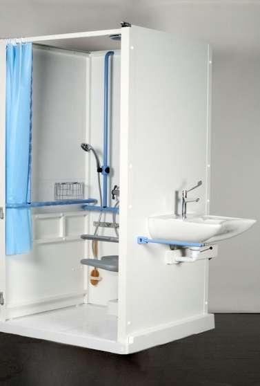 Cabine de douche handicapé /mobilité réd - Photo 3