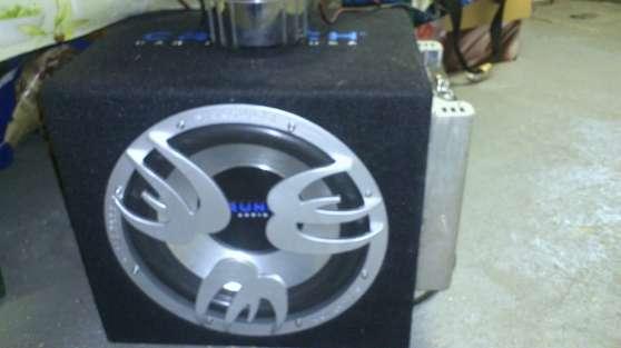 boomer,ampli, et poste cd sony