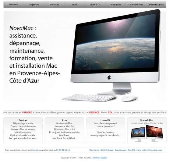 NovaMac, spécialiste Apple