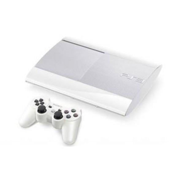 Console PS3 blanche Ultra Slim 500 Go So