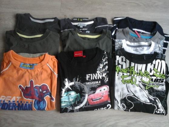 t-shirt manches longues 8 ans  et 10ans - Annonce gratuite marche.fr