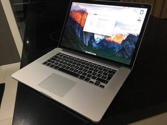 "apple macbook pro ""core i7"" 2.2 15"" 256 - Annonce gratuite marche.fr"