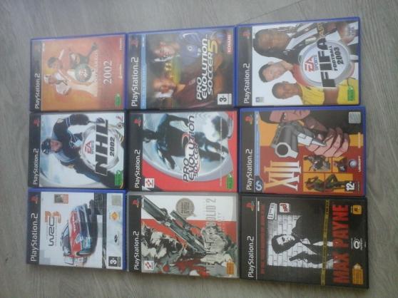 PS2+ 2 manettes + carte memoire +20 jeux - Photo 3