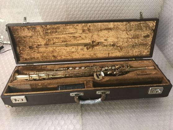 Saxophone Soprano, Selmer 80, Super Acti