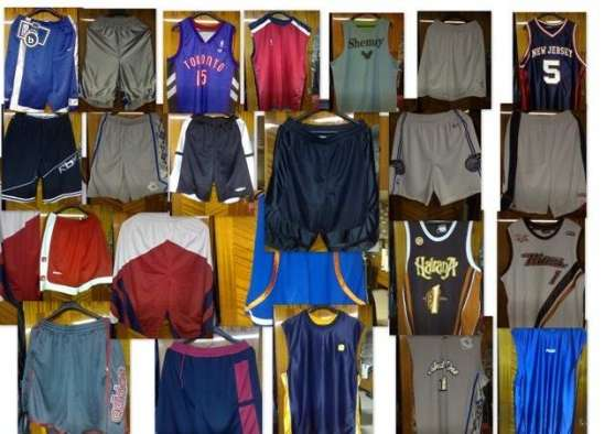Annonce occasion, vente ou achat 'Maillots Basketball et chortes'