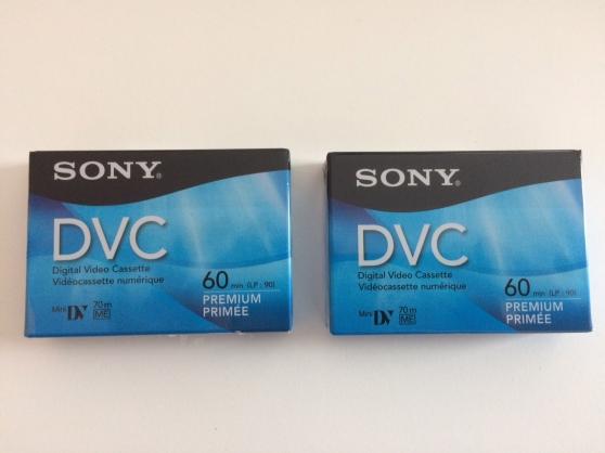 Annonce occasion, vente ou achat 'Cassettes mini DV'
